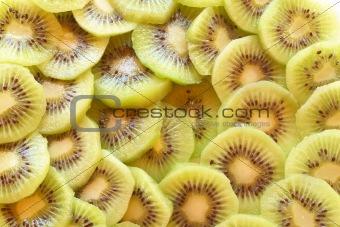 Kiwi fruit background