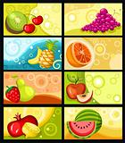 fruit card set