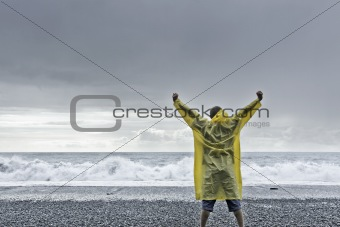 challenging the sea