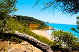 Cala Fonda beach, Tarragona, Spain