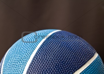Blue basketball