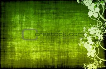 Green Grunge Design Texture