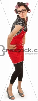 extravagant emotional housewife