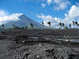 volcanic terrain mount mayon