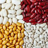 Four types of beans