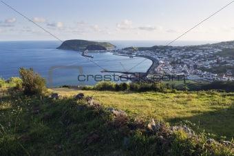 City of Horta, Faial, Azores