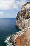 Geologic formation of Morro de Castelo Branco
