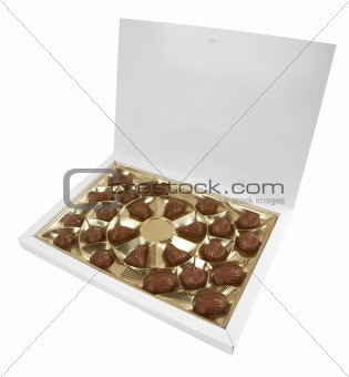 Box with chocolates