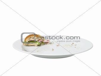 Almost Eaten Sandwich