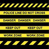Yellow Caution Tapes