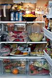 Fully Stocked Refrigerator