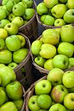 Green Apples In Bushels