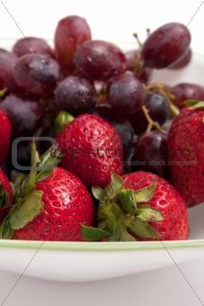 Bowl of Red Berries