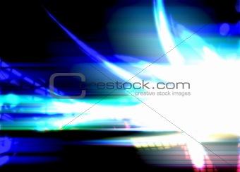 Bright Glowing Plasma