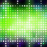 Glowing Green Dots