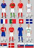 soccer world cup, basket 4