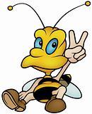 Sitting Wasp
