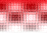 halftone abstract background red