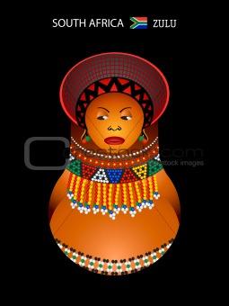 Matryoshka zulu girl