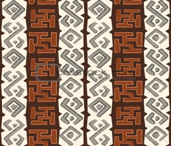 African seamless pattern