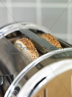 Bread in a Toaster