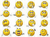 16 Emoticons