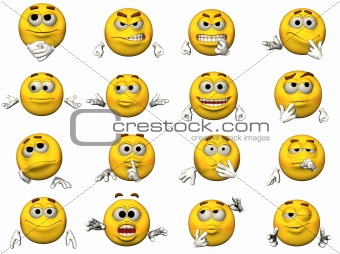 16 Emoticons