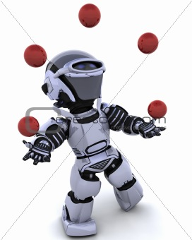 robot juggling