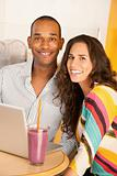Couple With a Laptop