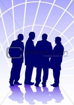 Group of businessmens