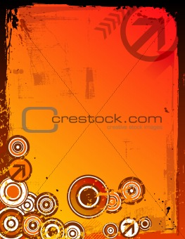 Grunge Color Background