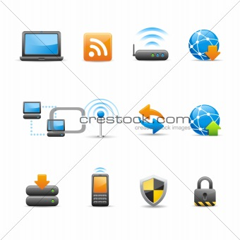 Professional Icon Set // Connectivity