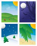 SEASONAL BACKGROUNDS