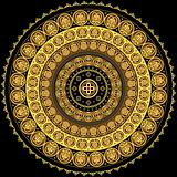 Concentric circular prnament
