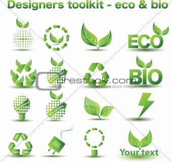 Designers toolkit series - Environmental icons