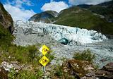 Glacier hazards