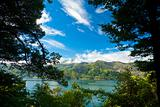 Marlborough Sounds framed view
