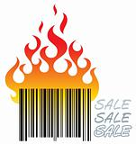 barcode in fire