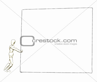 3d billboard sketch