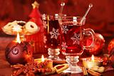 Hot drink for winter and Christmas