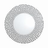 White radial maze without solution.