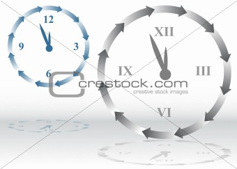 Arrow Clock