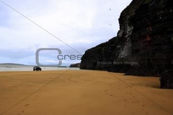 four wheel drive by cliffs