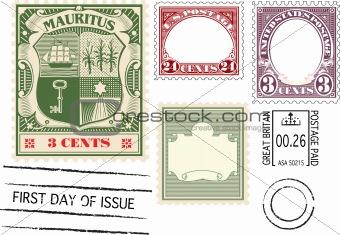 Antique Postage Stamp