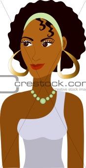 Afro Girl Avatar