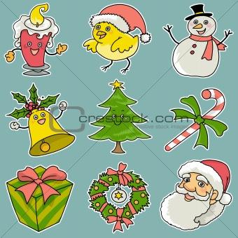 9 christmas icons