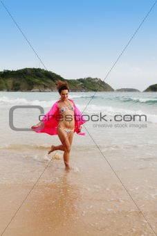 Beach girl.