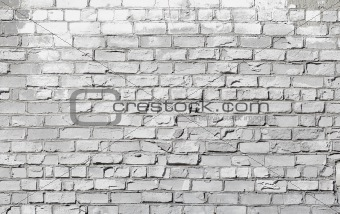 Brick wall - architectural background