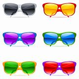 Sunglasses set.