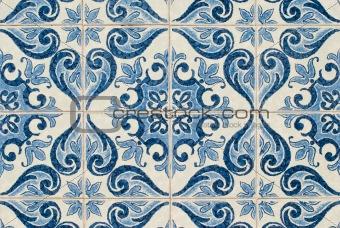 Portuguese glazed tiles 223